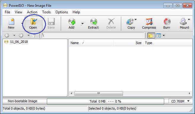 open 7z file