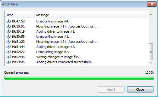 Add driver to ISO file