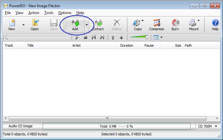 Burn mp3 files to Audio CD