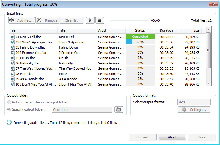 Convert Flac Files To Mp3