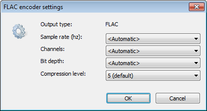 The Higher Compression Level Can Get Better Ratio But Will Take Longer Time To Compress Files Click OK Close Encoder Settings