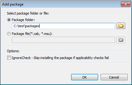 DISM Tool - Package servicing