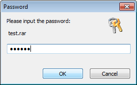 how to open rar file without password