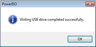 How to create bootable pendrive for windows 7 using poweriso